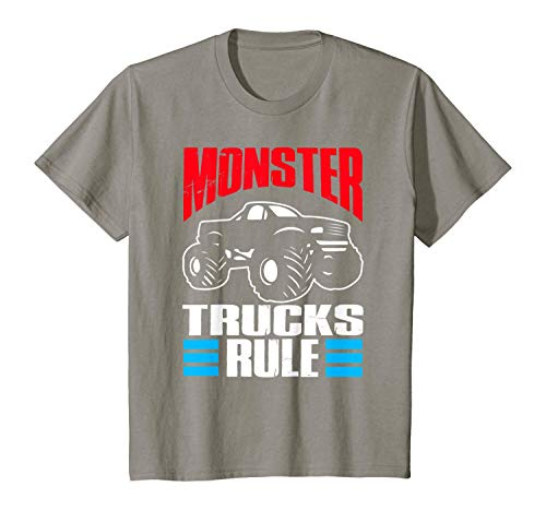 T-Shirt Monster Trucks Big Trucks