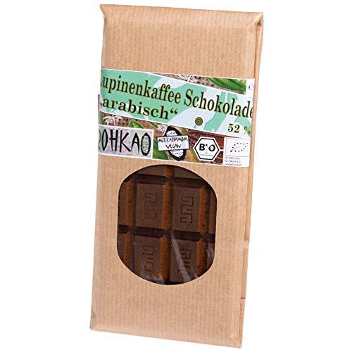 """Lupinenkaffee Schokolade """"arabisch"""" 52% 80 g kbA 1x 80g Tafel - bean to bar - CO2 Neutral - handgemacht"""