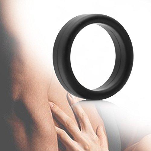 OMG ❣Superstarker Silikon-Penisring Mit Hahn-O-Funktion Gegen Erektionsstörungen Vor Der Ejakulation
