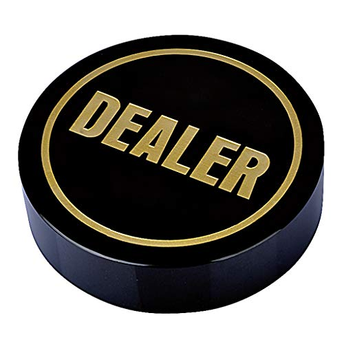 HOUSEHOLD Dealer Button Poker Botones de Poker Texas Holdem Professional Casino,7 Opciones Diferentes