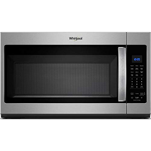 Whirlpool 30 in. W 1.9 cu. ft. Over the Range Microwave in Fingerprint Resistant Stainless Steel...