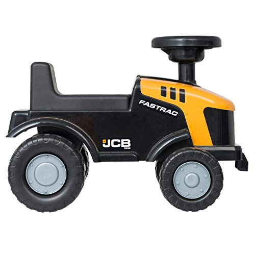 JCB- Ride On JCB Construction Tractor- HTI Toys- Official JCB Licensed Tractor Toy- Kids Truck Toy- 2 Year plus