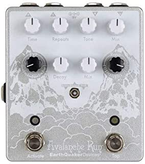 EarthQuaker Devices Avalanche Run V2 Stereo Reverb/Delay Effects Pedal- Limited Edition