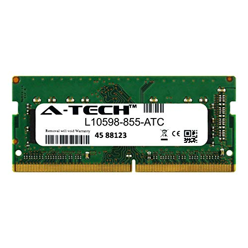 A-Tech 4GB Replacement for HP L10598-855 - DDR4 2666MHz PC4-21300 Non ECC SO-DIMM 1.2v - Single Laptop & Notebook Memory Ram Stick (L10598-855-ATC)