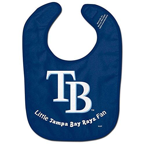 WinCraft MLB Tampa Bay Rays WCRA0118114 All Pro Baby Bib