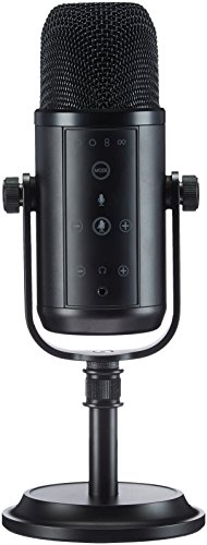 Micrófono de Condensador AmazonBasics LJ-PCM-001 | Micrófono USB de gran potencial.