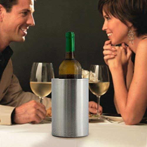 BBTradesales Refroidisseur à vin double paroi
