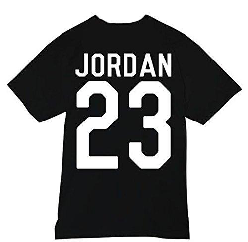 Unisexe Jordan 23 T-shirt Top Michael Air MJ Chicago Bulls Basketball Washington - blanc -