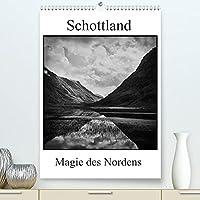 Schottland Magie des Nordens (Premium, hochwertiger DIN A2 Wandkalender 2022, Kunstdruck in Hochglanz): Schottlands einzigartige Landschaft in eindrucksvollen schwarz-weiss Fotos (Monatskalender, 14 Seiten )