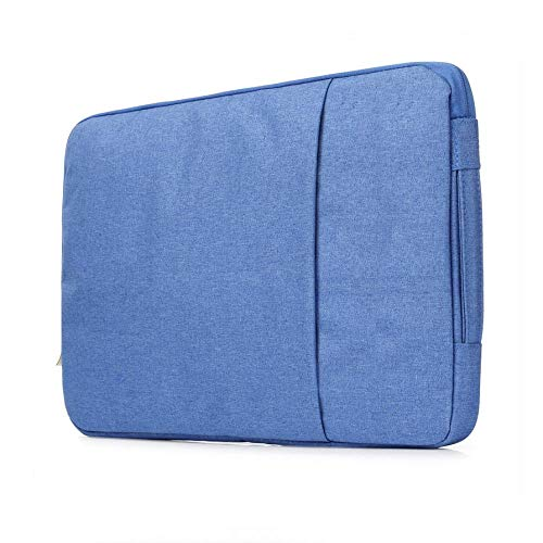 OWIME Portable Laptop Sleeve Case 14/15./15.6 Inch Notebook Travel Carrying Bag Waterproof Protective Cover For Macbook Air Pro 13 15 (Color : Blue, Size : 11 inch)