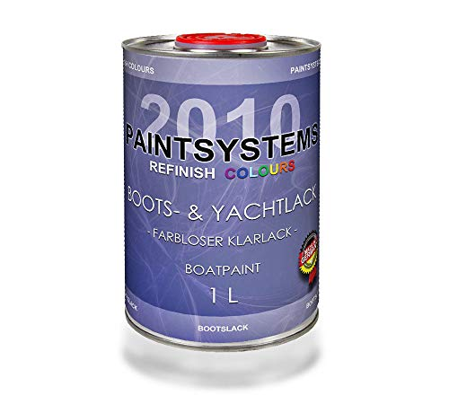 PAINTSYSTEMS REFINISH COLOURS 1K Boots- & Yachtlack Klarlack 1Liter