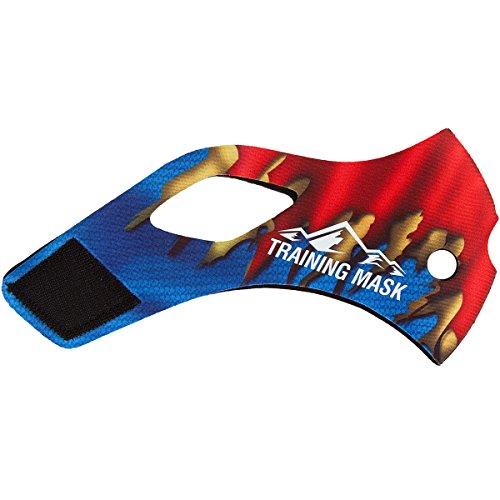 Training Mask Elevation 2.0 Super Steel Sleeve - Blue-Red - Medium