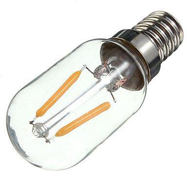 HZZymj-2W E14 Ampoules à Filament LED S14 2 COB 200 lm Blanc Chaud Décorative AC 100-240 V 1 pièce