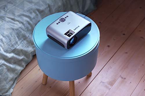 Philips NeoPix Easy Mini Video Projector, 80 Inch Display, Built-in Media Player, HDMI, USB, microSD, 3.5mm Audio Jack Photo #5