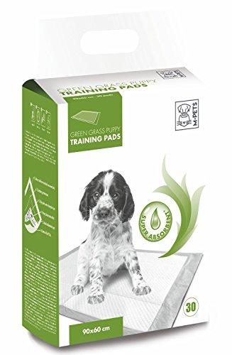 M-PETS 10162703Cachorros de sobremesa Cachorro Inodoro Puppy Pads con Hierba aromática, 90x 60cm, 30Unidades