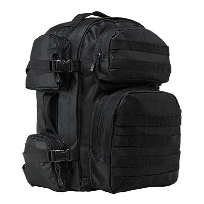 VISM by NcStar Tactical Back Pack (CBB2911), Black