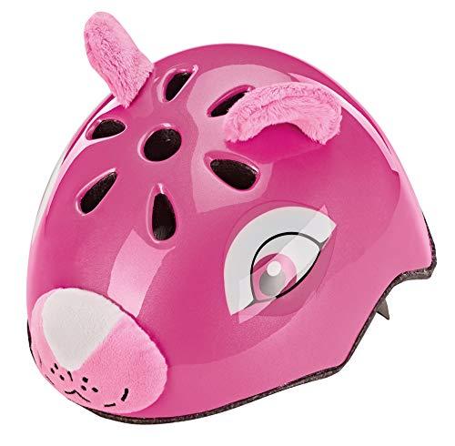Prophete Unisex Jugend Kinder-Fahrradhelm Tiermotiv: Pinker Bär, Größe: 50-54 cm, TÜV/GS Zertifiziert