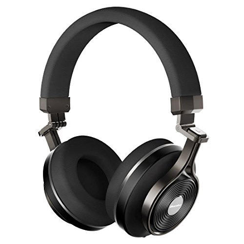 Bluedio T3 Plus (Turbine 3rd) Kabellose Bluetooth 4.1 Stereo-Kopfhörer mit Mikrofon- / Micro-SD-Kartensteckplatz (schwarz)