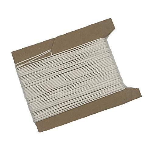 ps FASTFIX 10 m Schnur für Plissees 0,8 mm - 8 Farben - Plisseeschnur - Spannschnur für Plissee weiß