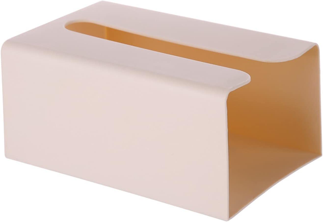 HRTX Caja De Pañuelos De Pared, Caja De Soporte De Tejido, Clasificador De Bolsas De Basura, Caja De Papel Colgante De Pared Autoadhesiva para Cocina, Baño Y Almacenamiento De Oficina