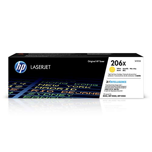 HP 206X | W2112X | Toner Cartridge | Yellow | High Yield
