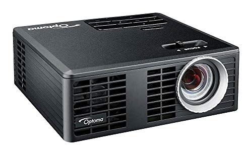 OPTOMA TECHNOLOGY ML750E - Proyector LED - 700 lúmenes, 20000 Horas Vida LED, HDMI + MHL v1.0, Universal I/O, VGA / Audio out 3.5 mm, microSD-Slot, USB-A Reader/Wireless