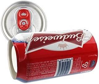 隠し金庫 飲料缶型 収納 セーフティボックス 『SECRET SAFE シークレットセーフ』(OA-227) Budweiser アメリカン雑貨 米国直輸入 貴重品の保管 タンス貯金 へそくり 防犯 スパイグッズ