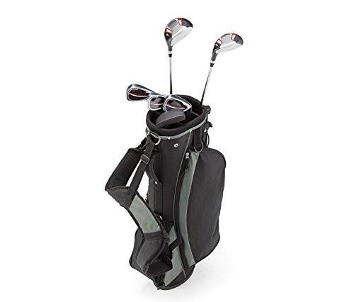 Tchibo TCM Herren Damen Golfset Golf Set Rechtshand Schläger Standbag Mehrfarbig (Herren Golfset)