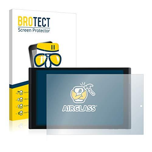 BROTECT Panzerglas Schutzfolie kompatibel mit Medion Lifetab X10302 (MD 60347) - AirGlass, 9H Festigkeit, Anti-Fingerprint, HD-Clear