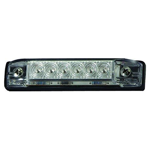 "T-H Marine LED-51800-DP LED Slim Line Utility Strip Lights, 4"" - Clear"