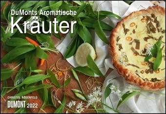 DuMonts aromatische Kräuter - Kalender 2022 - DuMont-Verlag - Küchenplaner mit Rezepten und Platz für Eintragungen - 42 cm x 29 cm (offen 42 cm x 58cm)
