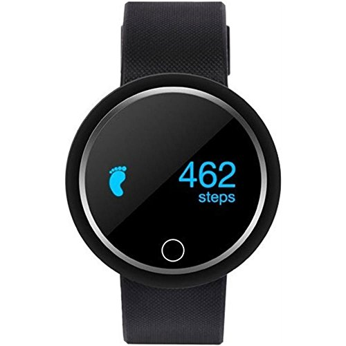 Ora Fit 2 Smartwatch met 0,82 inch display (bluetooth 4.2) zwart