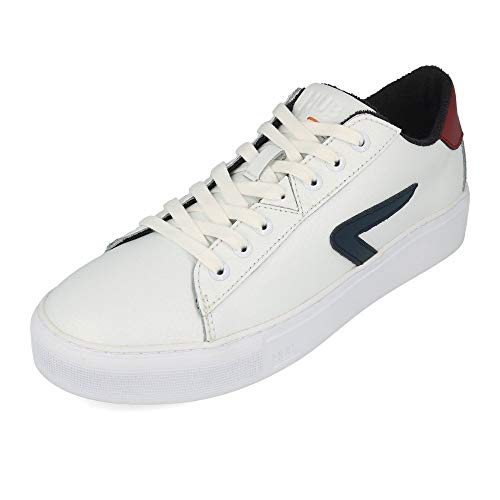 HUB FOOTWEAR - HOOK Z -STICH L31 - white blue