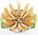 CHHD Tritatutto per Frutta E Verdura Multifunzione in Acciaio Inox Frutta Anguria Affettatrice Melone Taglierina da Cucina