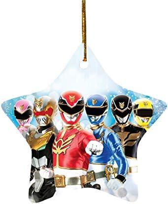 Tiyena Christmas Star Ornament Power Superheros Teenagers Children s TV Series Lovers Rangers product image