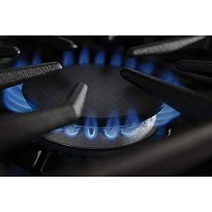 Kitchenaid KGCU467VSS Commercial-Style Gas Cooktop