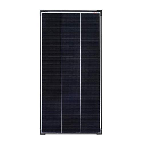 enjoysolar® Mono Schindel 100W Monokristallin Solarmodul 100W Solarpanel 12V mit neuartiger Schindeltechnologie