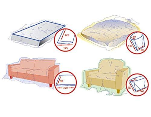1-PACK Schutzhüllen-Set für Matratze, Couch, Bett und Sessel
