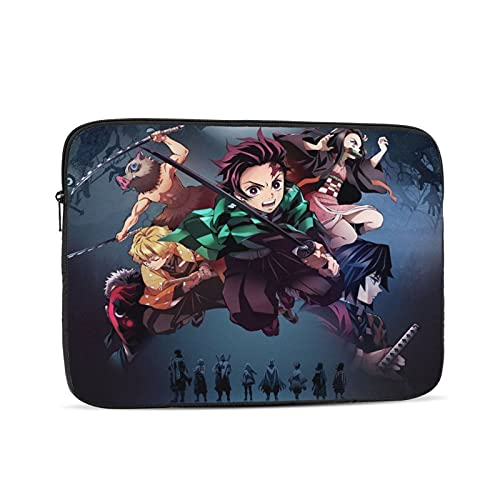 Anime Laptop case 13inch, Laptop Cover Shockproof Slim Briefcase Laptop Sleeve, Protective Laptop Carrying case for Business Travel School