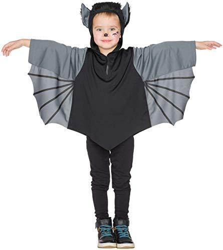 Rubies 12307 - Disfraz de murciélago para niños (92 - 128 Capas)