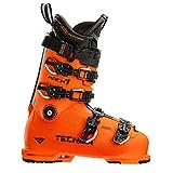 TECNICA 10195000D55 Mach1 HV 130 High Volume Mountain Ultra Orange Ski Boots, 28.5