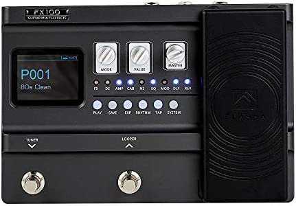 FLAMMA FX100 Guitar Pedal Multi effects Pedal Guitar Processor with 151 Effects 80 Second Looper product image
