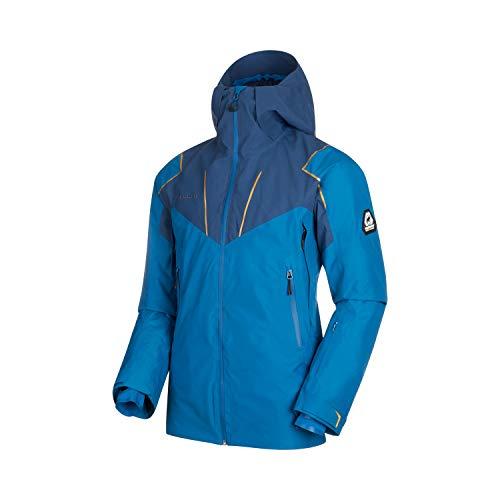 Mammut Herren Scalottas Hooded Hardshell-Jacke mit Kapuze, Sapphire-Wing Teal, XL