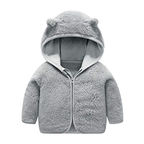 Check Out This Goldweather Toddler Baby Girls Boys Hooded Coat Jacket Cute Bear Ears Fleece Winter T...