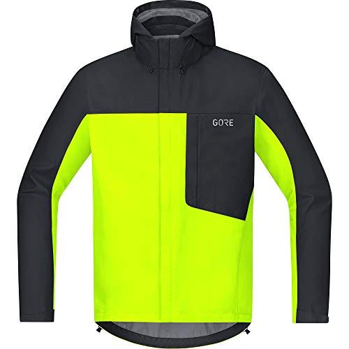 GORE WEAR Men C3 GORE-TEX Paclite Hooded Jacket neon yellow/black Medium 100036