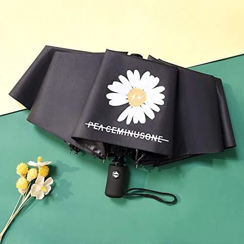 Sonnenhut Kleiner Gänseblümchen-Sonnenschirm, Sonnenschutz, UV-Schutzschirm, Regenschirm(BK2)