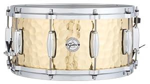 """Gretsch Drums Full Range Series S1-6514-BRH 6.5x14"""" Hammered Brass Snare Drum"""