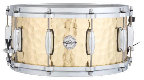 Gretsch Drums Full Range Series S1-6514-BRH 6.5x14' Hammered Brass Snare Drum