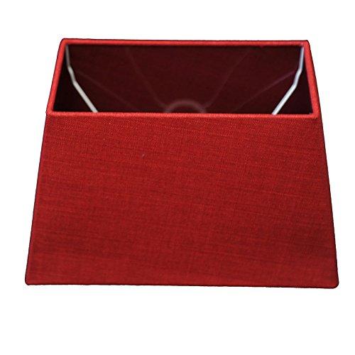 Abat-jour de couleur rouge, moderne