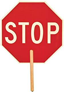 ML Kishigo 5950 Non Reflective Double Sided Stop Sign with 9